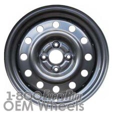 Picture of Saturn S SERIES (1993-2002) 15x6 Steel Black 12 Hole [07005]