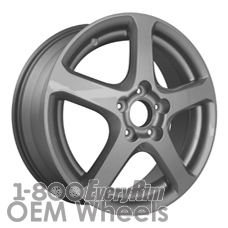 Picture of Acura TSX (2004-2008) 17x7 Aluminum Alloy Chrome 5 Spoke [71738]
