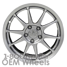 Picture of Acura RSX (2006) 17x7 Aluminum Alloy Sparkle Silver 10 Spoke [71751]
