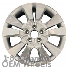 Picture of Acura RDX (2010-2012) 18x7.5 Aluminum Alloy Chrome 5 Double Spoke [71791]