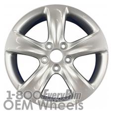 Picture of Acura TL (2012-2014) 18x8 Aluminum Alloy Chrome 5 Spoke [71802]