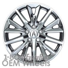 Picture of Acura TLX (2015-2019) 18x7.5 Aluminum Alloy Chrome 15 Spoke [71828]