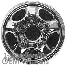 Picture of Daihatsu ROCKY (1990-1992) 15x6 Steel Chrome 5 Hole [73137A]