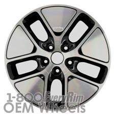 Picture of Kia OPTIMA (2011-2013) 17x6.5 Aluminum Alloy Chrome  (for use w/o TPMS Sensor) 5 Spoke [74646B]