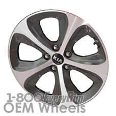 Picture of Kia RONDO (2014-2016) 18x7 Aluminum Alloy Chrome 5 Spoke [74683]