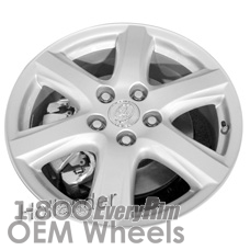 Picture of Toyota CAMRY (2007-2009) 16x6.5 Aluminum Alloy Silver 6 Spoke [75166]