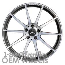 Picture of Mercedes SLS (2011-2014) 19x9.5 Aluminum Alloy Chrome 10 Spoke [85206]