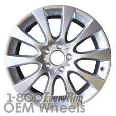 Picture of Mercedes ML-CLASS (2015) 18x8 Aluminum Alloy Silver 10 Spoke [85387]